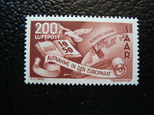 SARRE (allemagne) - timbre - yt aerien n° 13 n* (A3) stamp germany