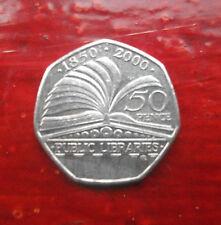 150 anni di biblioteche pubbliche 50p Coin