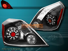 FIT 2008 2009 2010 ALTIMA 2-DOOR COUPE TAIL LIGHTS LED BLACK
