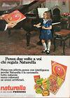 Pubblicità Advertising Naturella FERRERO 1970