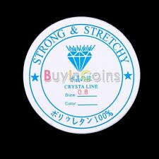 Roll 0.8mm Firm Elastic Stretch Beading String Cord Wire Jewelry Making df#12