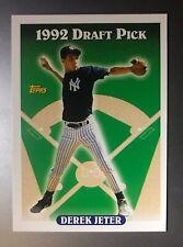 ⚾️ 1993 Topps DEREK JETER RC Rookie # 98 1992 Draft Pick New York Yankees HOF 🏆