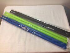 3 Paar Kunststoff Drumsticks Trommelstock Percussion Sticks L=2x~41,5 ,1x~38,5cm