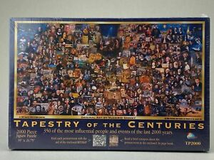 2000 Piece Jigsaw Puzzle - Tapestry of the Centuries - STILL SEALED - TP2000