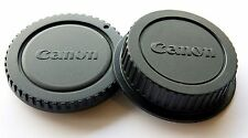 Camera Body Cover + Rear Lens Cap for Canon EOS 1100D 600D 60D 550D 5D UK SELLER