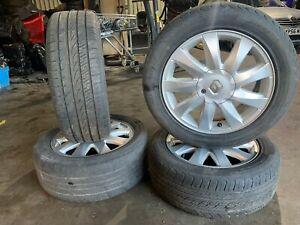 Renault Megane Convertible 2002-2008 Kubera Alloy Wheels&Tyres 4x 205/55R16