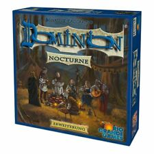 Dominion Erweiterung Nocturne BLAU NEU Brettspiel Kartenspiel Strategiespiel