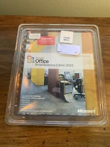 Microsoft Office Small Business Edition 2003 Upgrade Retail for Windows (1...