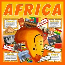 CD AFRICA TEACHING RESOURCES CULTURE DIVERSITY LANGUAGE GEOGRAPHY EGYPT ETC