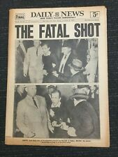 President Kennedy Assassination - Oswald Killed - New York Daily News Newspaper