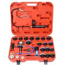 Radiator Pressure Tester Coolant Purge Refill Vacuum Cooling System Kit 28PC UK