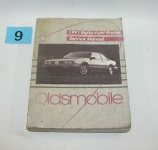 1991 Oldsmobile Eighty Eight Royal Factory Service Manual GOOD USED CONDITION 9