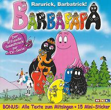 Barbapapa CD - Der offizielle Soundtrack zur TV Serie zum Mitsingen Geschichten