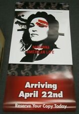 """Madonna American Life 2003 Double Sided Promo Advertising Poster 65"""" by 32"""""""