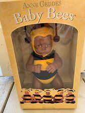 Anne Geddes Baby Bee African American Doll Nib