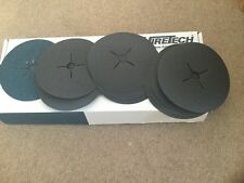 10 Hiretech floor sanding Fibre Backed abrasive disc 24,50,80, 120 grit