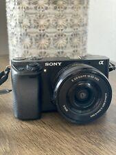 Sony Alpha α6000 24.3MP Digital SLR Camera - Black Kit with E PZ 16-50mm Lens