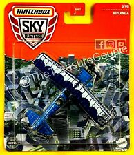 Matchbox 2021 - NEW Sky Busters - BIPLANE - A - Blue 6/8