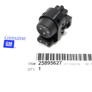OEM Front Driver Side Power Mirror Control Switch Buick Chevrolet Pontiac Saturn