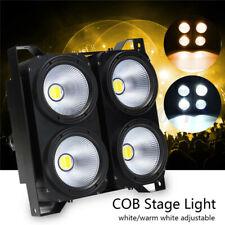 400W LED Audience Stage Par Light COB 2in1 Cool/Warm White DMX DJ Blinder Light