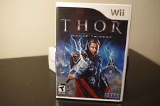 Thor: God of Thunder (Nintendo Wii, 2011) New / Factory Sealed