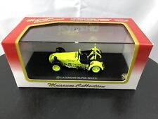 Caterham Super Seven Yellow Japan New Kyosho 1/43 O Scale Diecast Model Car