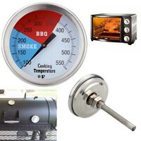Temperature Thermometer Gauge Barbecue BBQ Grill Smoker Pit Thermostat BBQ Tool