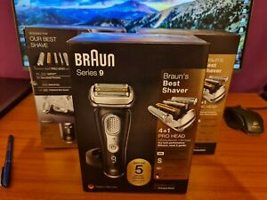Braun 9340s Series 9 noir Electric Shaver BRAND NEW !!!