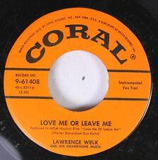 50'S Coral Nos 45 Lawrence Welk - Love Me Or Leave Me / He, Mr. Banjo On Coral