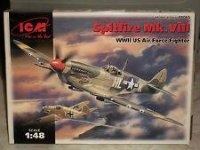 ICM 1/48 Scale Supermarine Spitfire Mk.VIII