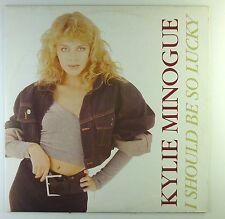 "12"" MAXI-Kylie Minogue-I should be così Lucky-c720-Slavati & cleaned"