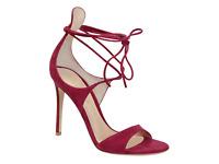 Gianvito Rossi Women's high heel sandals Fuchsia suede leather UK 7.5 - IT 40½