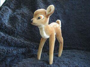 Rare 1951/72 German Steiff XL Deer ! Bambi !
