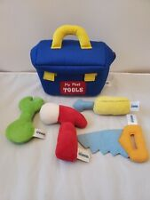 Baby Gund My First Toolbox with 4 Tools Stuffed Plush Playset #4048454