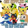 Tomy Pokemon 8 Inch (20cm) plush soft toy ONE SUPPLIED you choose