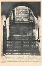 BF8315 loches i et l crypte situee sous l eglise collegi france       France