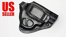 "NEW! Leather Waist Gun Holster Revolver Belt Concealed Carry Gat Pistol 2,5"" USA"