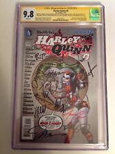 CGC 9.8 SS Harley Quinn #0 signed by 18 Timm Cooke Adlard Dini Kieth Hughes