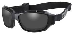 Harley-Davidson Herren Bend Gray Lens Schutzbrille, faltbar Schwarz Frames haben 01