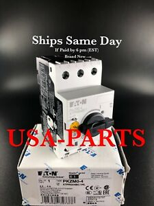PKZM0-4 Eaton / Moeller * Brand New * Ships Same Day  ( PKZMO-4 ) XTPR004BC1NL