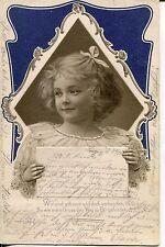 Sammler Lithographien vor 1914 mit dem Thema Spruch & Zitat