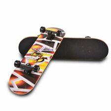 Moni Kinder Skateboard Lux 3006, ABEC-5 Lager 85A-PU-Räder Deckgröße 79 x 21 cm