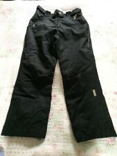 KARBON LIMITED EDITION Black Insulated Women's Ski Trousers-10 Used Twice