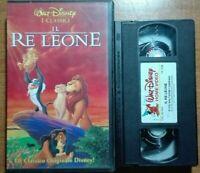 IL RE LEONE  - VIDEOCASSETTA VHS WALT DISNEY * N. 5