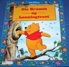 Norwegian Toddlers Childrens Story Book Norsk Disney Ole Brumm og honningtreet