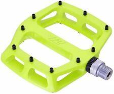"DMR V12 Sealed Bearings MTB Bike Bicycle Flat Platform Pedals 9/16"" Lemon Lime"