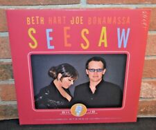 BETH HART & JOE BONAMASSA - Seesaw, 2013 1st Press BLACK VINYL LP New & Sealed!