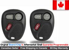 2x New OEM Keyless Remote Key Fob For 2004 2005 2006 Cadillac SRX L2C0005T