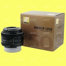 Genuine Nikon AF Nikkor 50mm f/1.8D lens 50 mm f1.8 f/1.8 D with Warranty