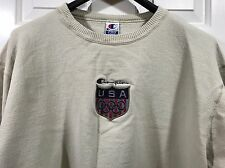 Vintage 80s 90s USA XL Champion Sweatshirt Authentic Pique Fleece New with Tags